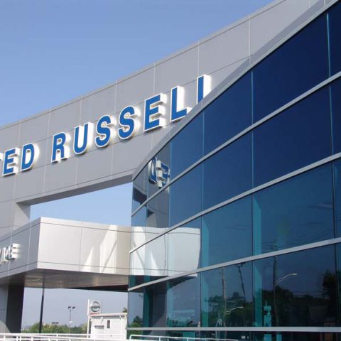 TED RUSSELI Building